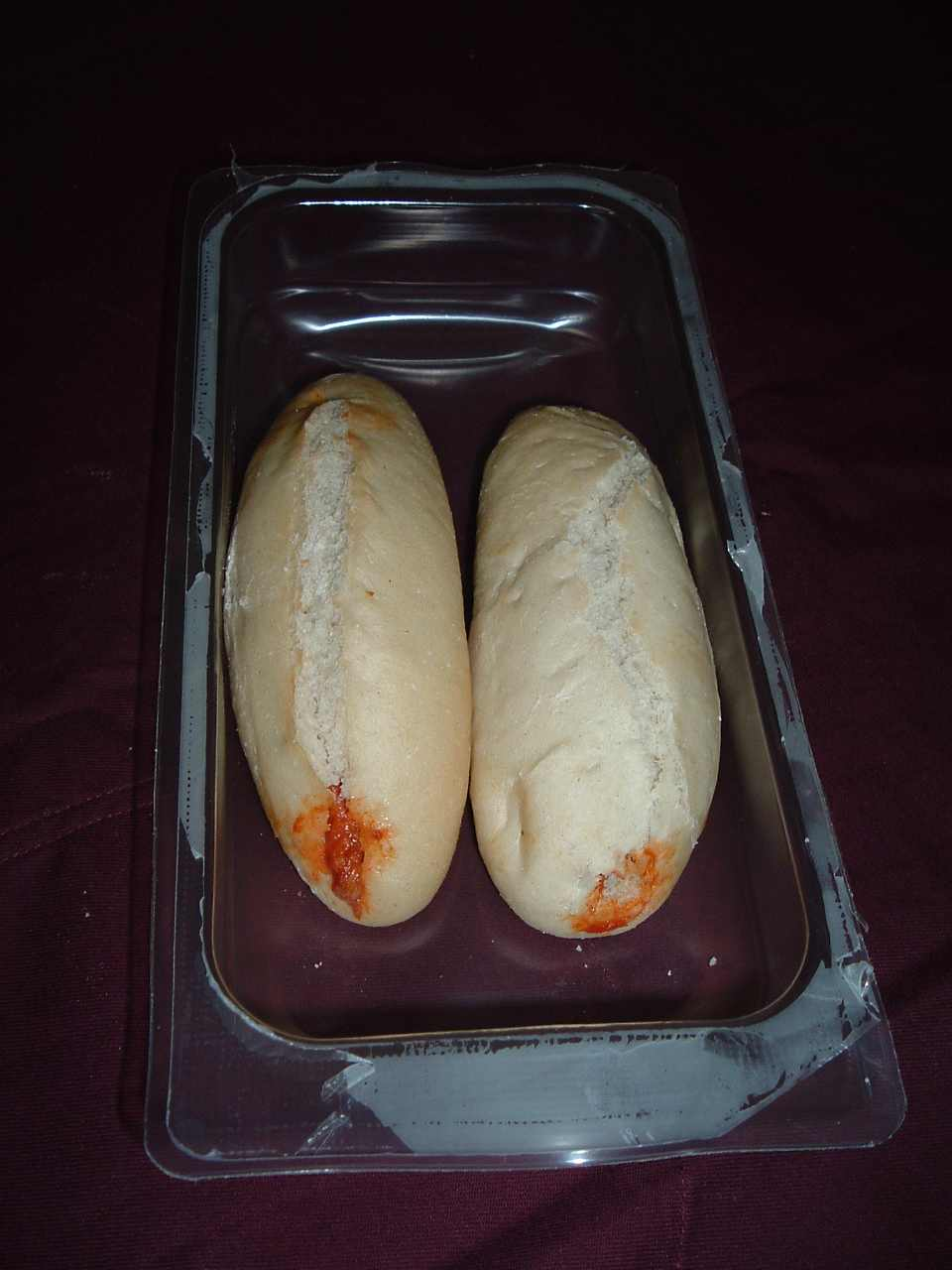 Het gevulde brood van Sobrasada